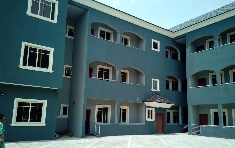 Externa display of Blitz apartments